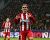 Antoine Griezmann comes out on top vs Chicharito as Atleti take control