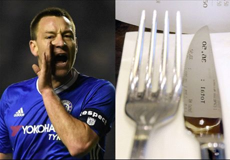 The bizarre cutlery revelation about Terry
