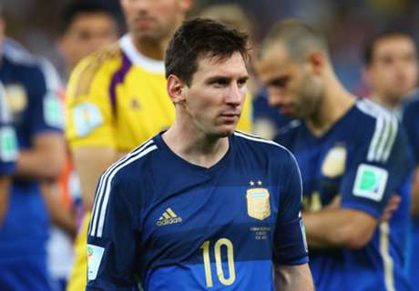 Messi Out For WC Final Rematch