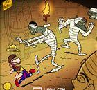 VIÑETA | Messi escapa de las momias en Egipto