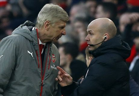 Wenger told official to 'f*** off'