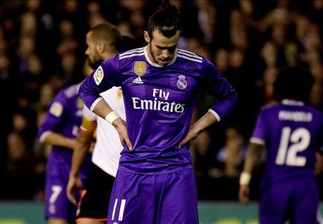El Madrid tropieza en Valencia