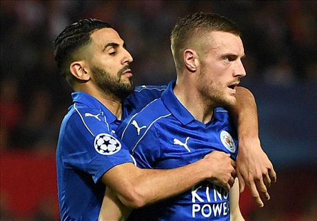 Vardy goal gives hope to defeated Leicester