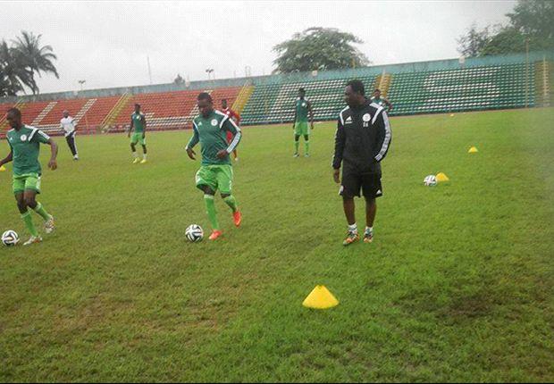 Super Eagles begin training in Calabar