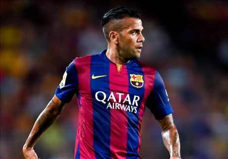 'Dani Alves still wants Barca stay'