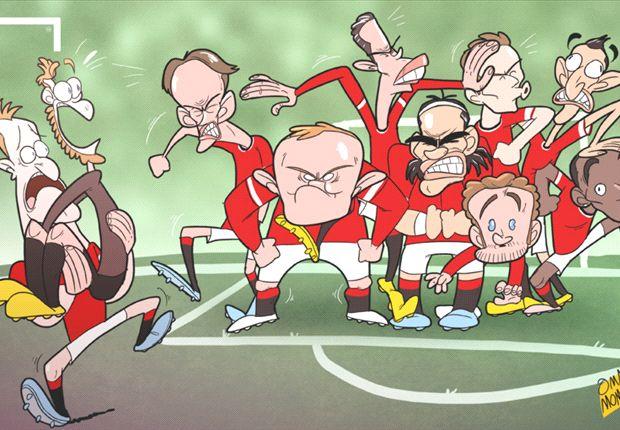Falcao, Di María, Mata, Rooney, Van Persie... ¿a quién sienta Louis van Gaal?