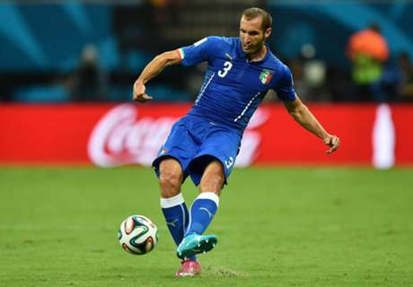 Chiellini out of Norway clash