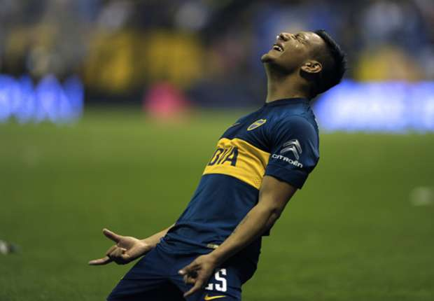 Chávez se emocionó después de convertir en la victoria de Boca ante Vélez.