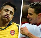 Nasri blames Arsenal woe on players