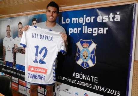 Tenerife presentó a Dávila
