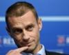 Il presidente dell'UEFA, Aleksander Ceferin