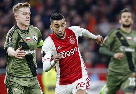 LIVE! Ajax - Legia Warschau: 1-0
