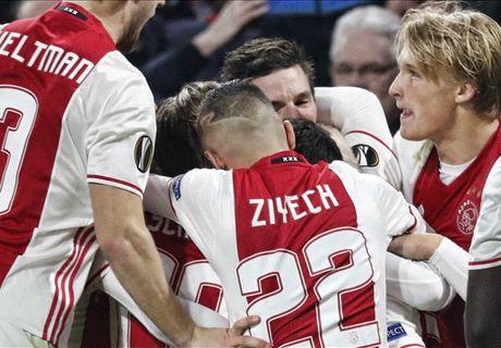 Ajax naar Denemarken in de Europa League