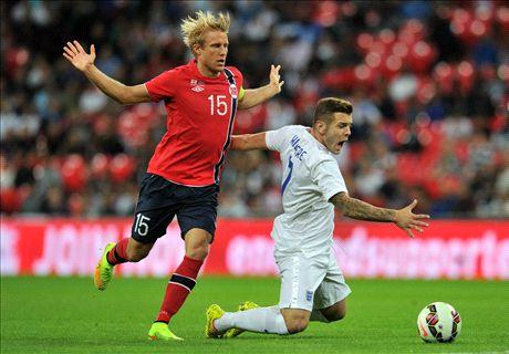 Amistoso: Inglaterra 1-0 Noruega