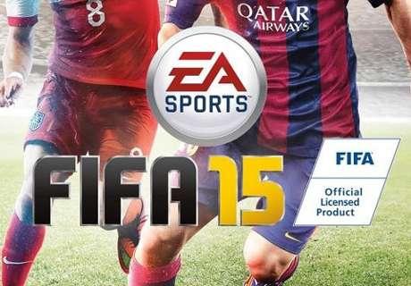 El Barcelona prueba el FIFA 15