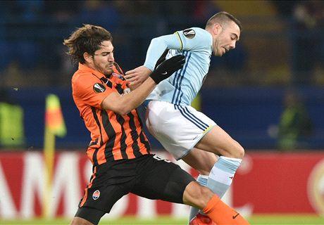 Player Ratings: Shakhtar Donetsk 0-2 Celta Vigo