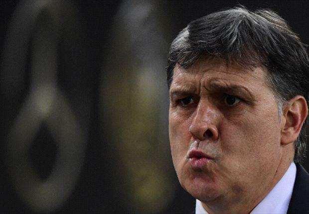 """'Tata' Martino: """"Tienen el mismo compromiso que en la etapa anterior"""""""