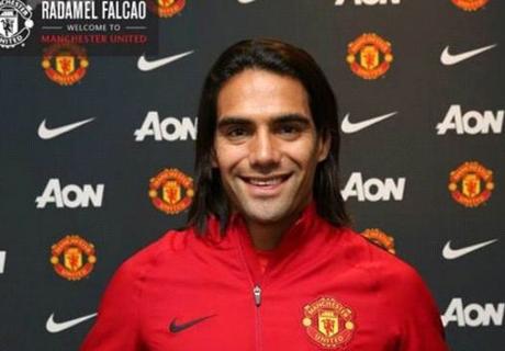Manchester United, Falcao est nerveux à cause de son genou