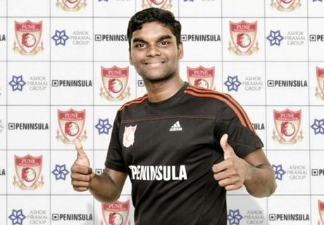 Pune FC sign Bineesh Balan
