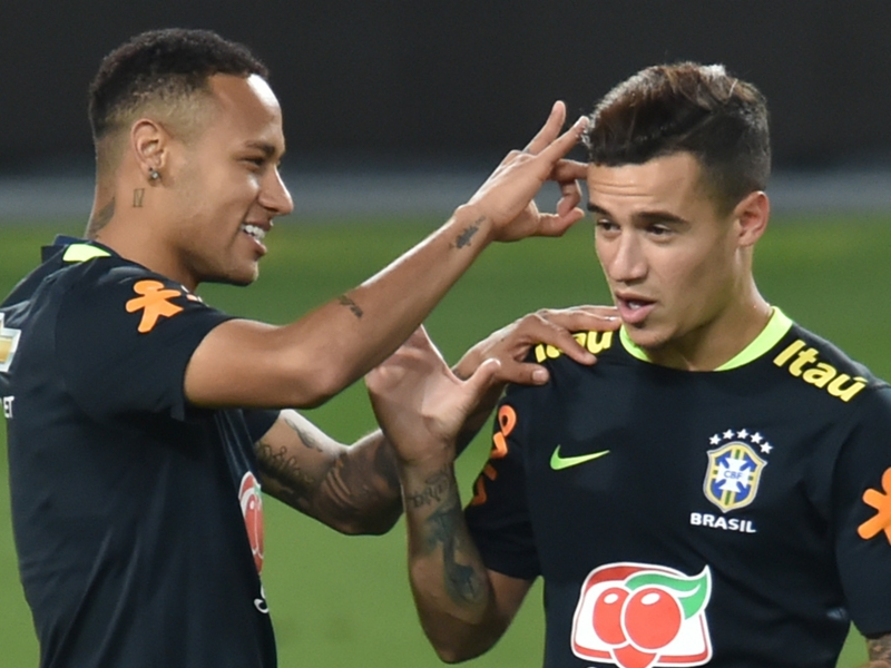 No Neymardependencia as Coutinho ready to lead Brazil in Australia