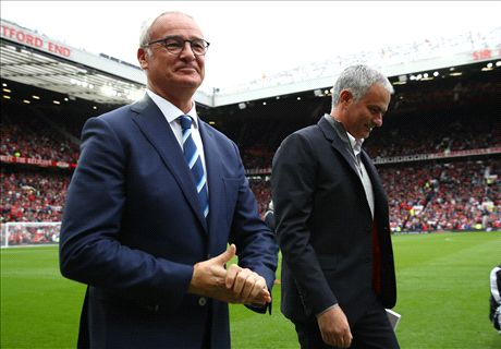 Mourinho's 'CR' Ranieri shirt tribute