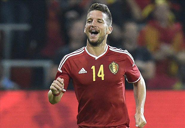 Belgium 2-0 Australia: Mertens and Witsel break stubborn Socceroos resistance