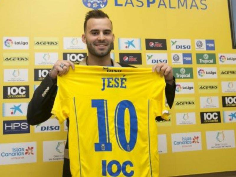 Quatre défaites pour Las Palmas depuis l'arrivée de Jesé