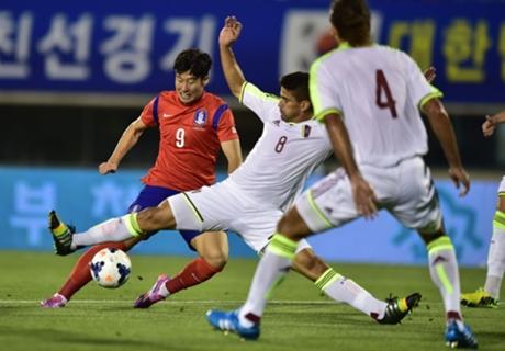 เกาหลีใต้พลิกชนะขาดเวเนซุเอลา 3-1 กระชับมิตร