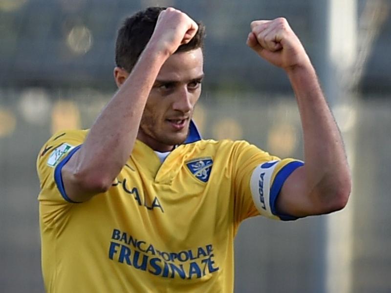 Frosinone-Avellino 1-1: Castaldo la apre, Ciofani risponde