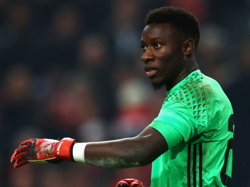 Ajax goalkeeper Onana open to Barcelona return