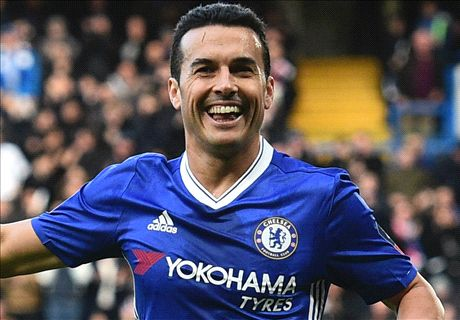 Pedro on same level as Costa & Hazard