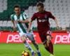 Trabzon ve Konya inatlaştı, puanları paylaştı: 1-1
