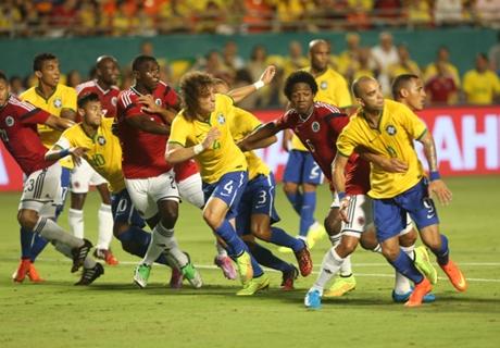 Laporan Pertandingan: Brasil 1-0 Kolombia