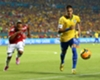 Brazil 1-0 Colombia: Neymar leads Dunga to first win