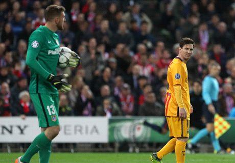 Messi, la pesadilla de Oblak