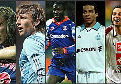 Ces joueurs ayant joué au PSG et à l'OM