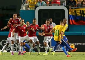Colombia V Brasil 05092014