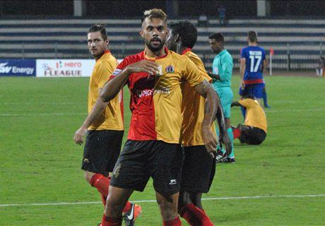 East Bengal thump Bengaluru FC