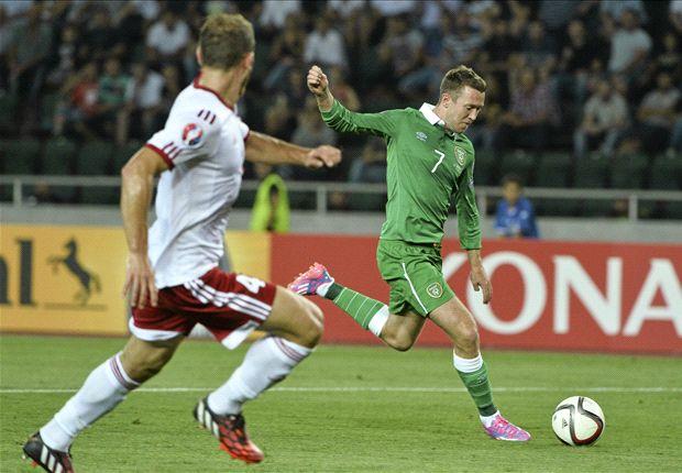 Georgia 1-2 Republic of Ireland: McGeady double gives O'Neill hard-fought win