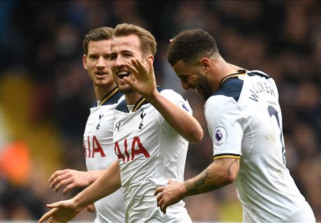 Kane hat-trick sinks sorry Stoke