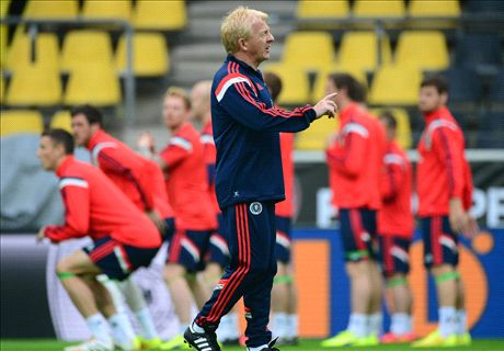 Strachan in confident mood