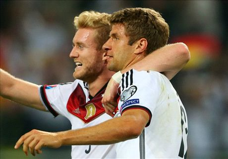 Germany 2-1 Scotland: Muller double