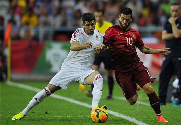 Portugal 0-1 Albania: Naufragio luso sin Cristiano Ronaldo
