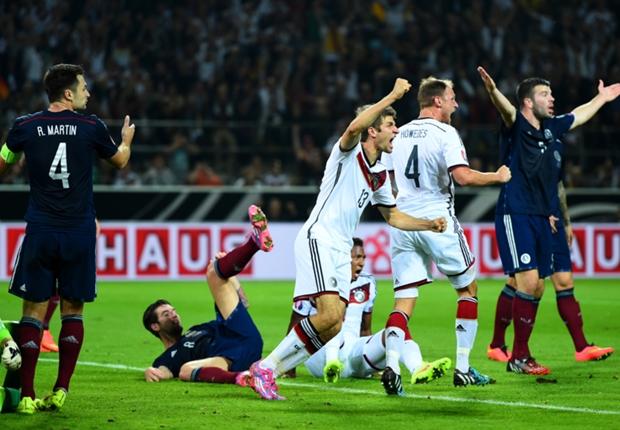 Laporan Pertandingan: Jerman 2-1 Skotlandia
