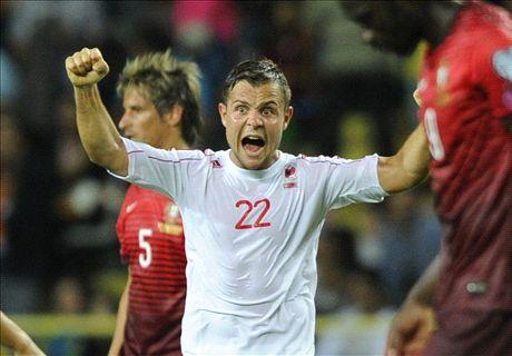 葡萄牙爆冷0-1不敵阿爾巴尼亞!