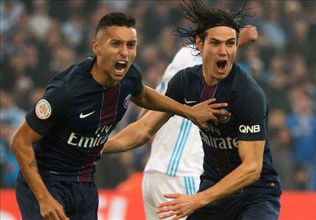 LIVE: Marseille vs Paris Saint-Germain