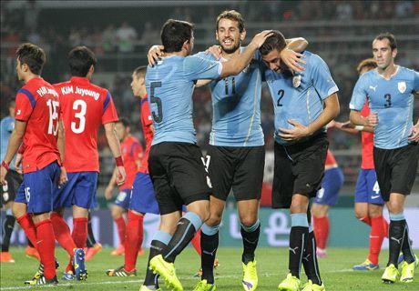 Report: South Korea 0-1 Uruguay
