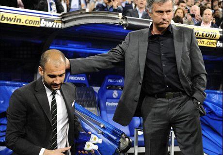 Mourinho vs Guardiola et les plus grosses rivalités chez les entraîneurs