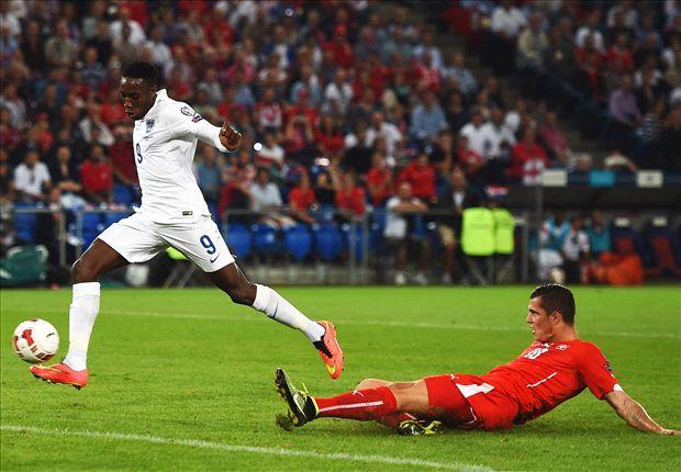Suiza 0-2 Inglaterra: Danny Welbeck encamina el liderato