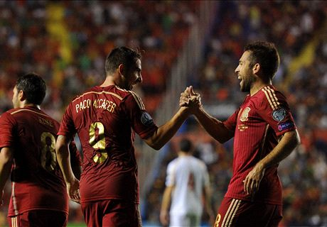 Player Ratings: Spain 5-1 Macedonia